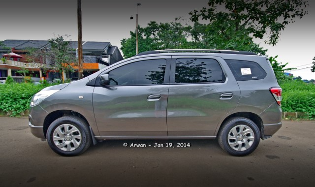 personal review chevrolet spin 1.5 ltz at 2013 – 19 januari 2014