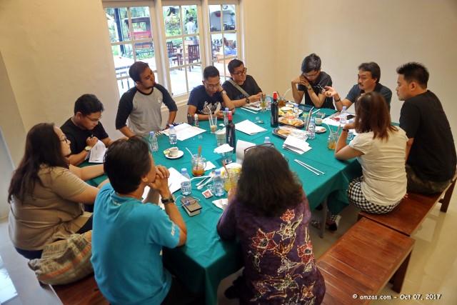 Rapat Pertama Pengurus PiCA Periode 2017-2019 di Bogor - 07 Oktober 2017