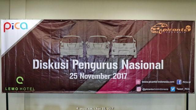 Diskusi Pengurus Nasional PiCA - 25 November 2017