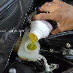 Si Hitam Mazda2 Servis Rutin di Mazda BSD City - 28 September 2020